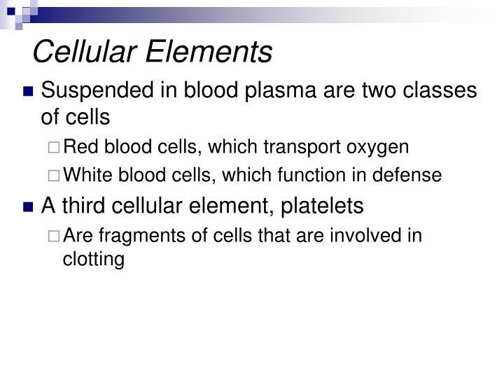 Cellular Elements