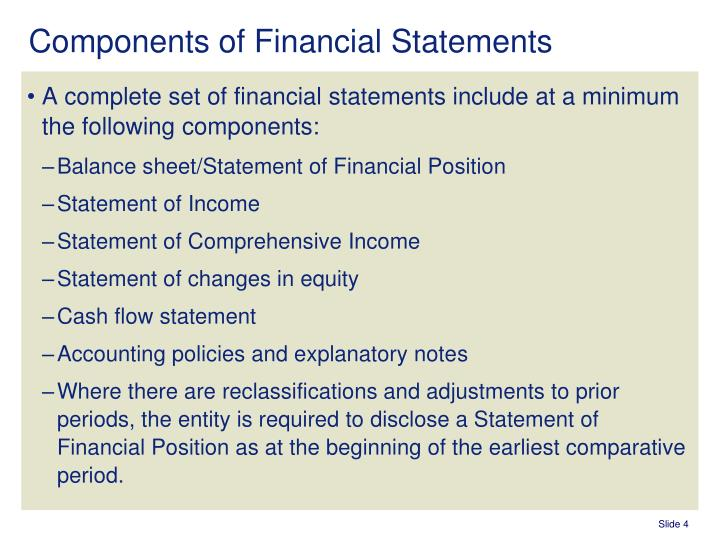 PPT - IAS 1 – Presentation of Financial Statements PowerPoint ...