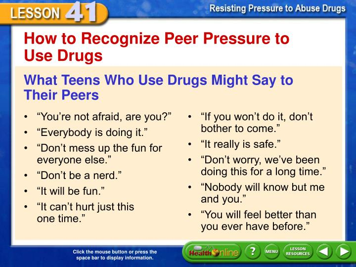 How to Recognize Peer Pressure to
