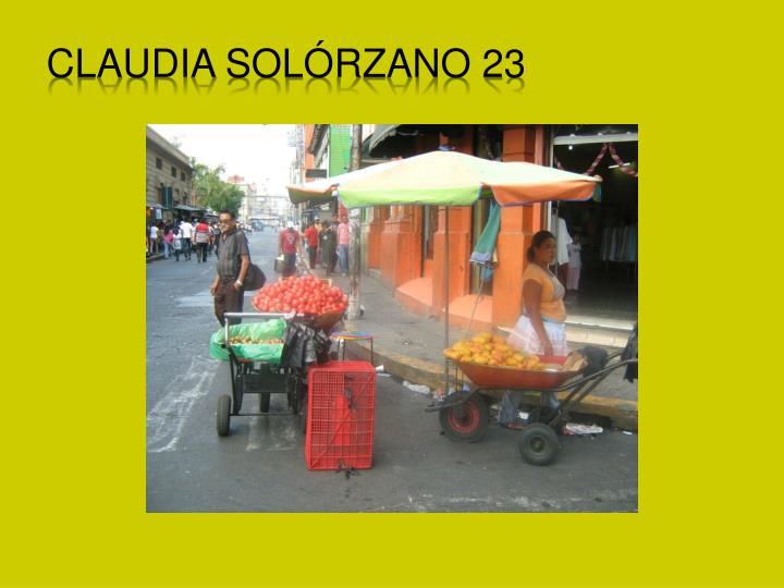 Claudia Sol