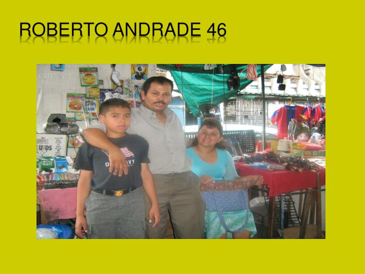 Roberto Andrade 46
