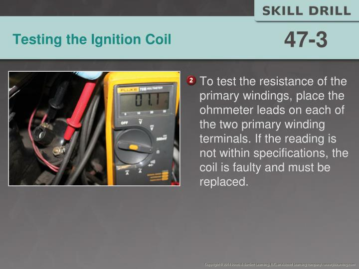 Testing the Ignition Coil