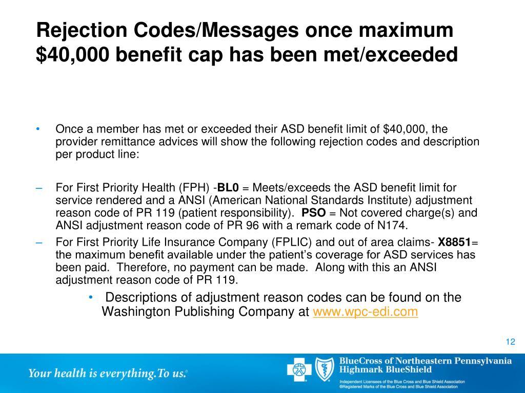 PPT - Blue Cross of Northeastern Pennsylvania Act 62 Autism