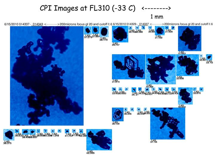 CPI Images at FL310 (-33 C)