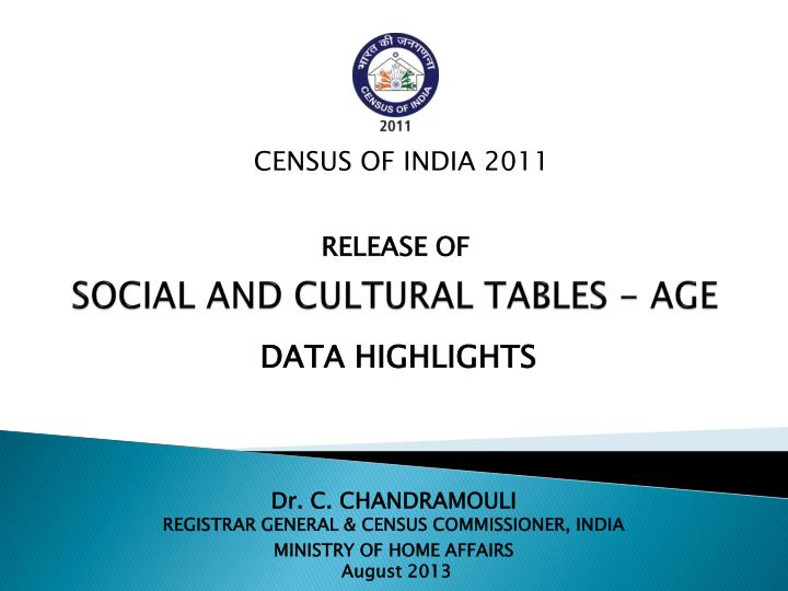 social and cultural tables age n.