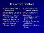 tale of two smithies