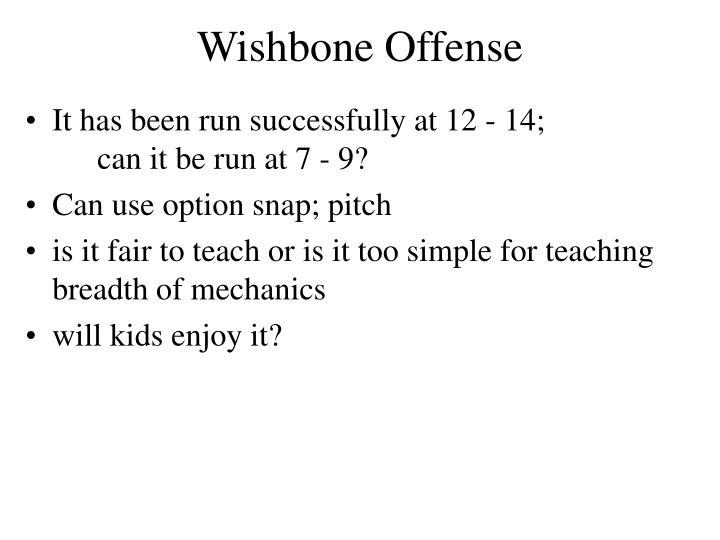 Wishbone Offense