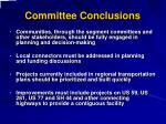 committee conclusions2