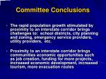 committee conclusions3