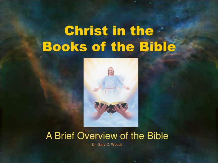 christ in the books of the bible n.
