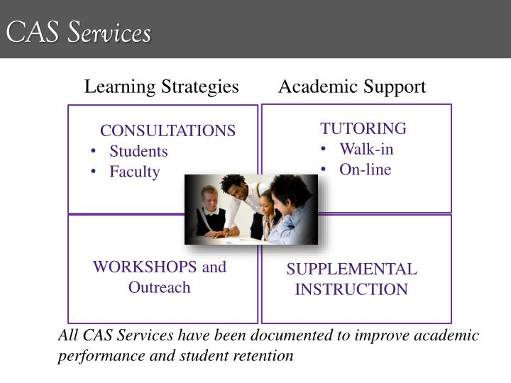 Learning Strategies        Academic Support