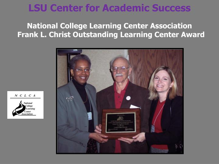 LSU Center for Academic Success