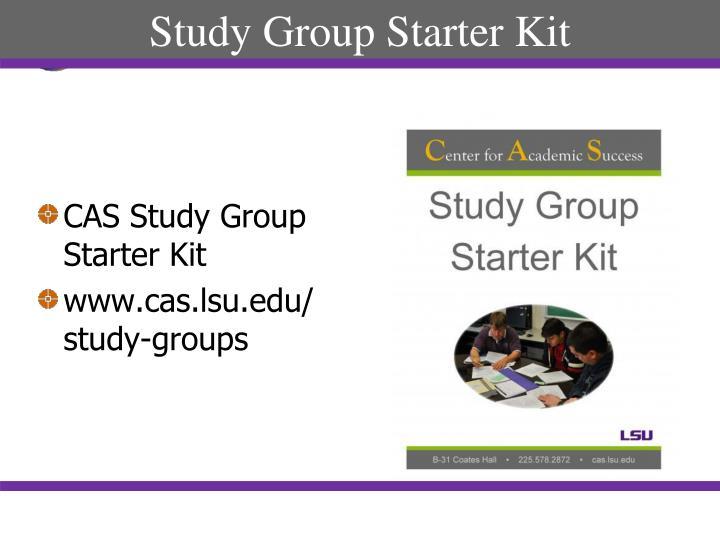 Study Group Starter Kit