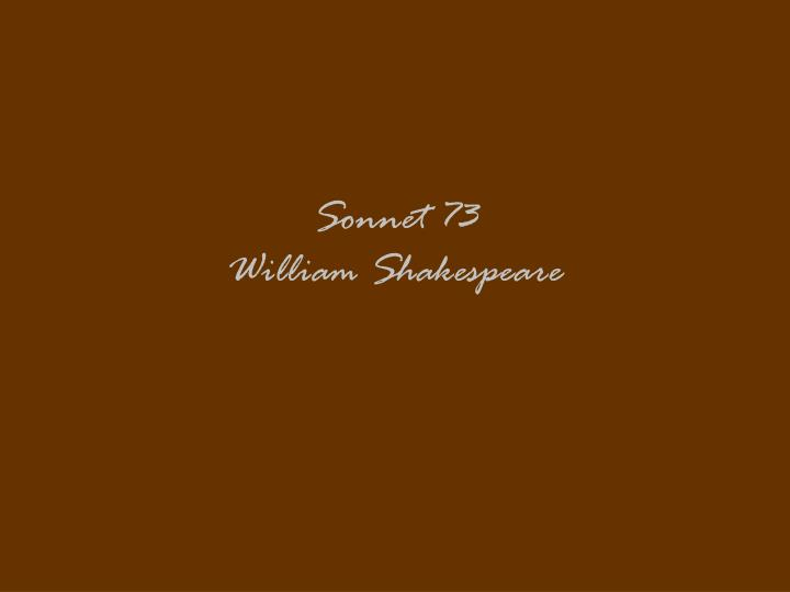 sonnet 73 william shakespeare n.