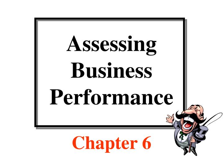 assessing business performance n.