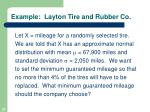 example layton tire and rubber co