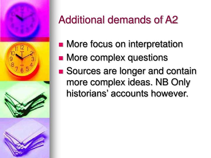 a2 history coursework source evaluation The course includes a college -level european history textbook, diverse primary sources, and multiple secondary sources written by historians or scholars interpreting the past.