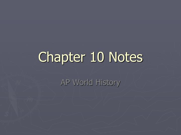chapter 10 ap environmental science notes Ap environmental science is a straightforward subject to study for you won't need to spend long hours going over past exam papers, and you can be assured that the content you are reviewing is up to date with today's standard ap environmental science has not been changed in the last five years.
