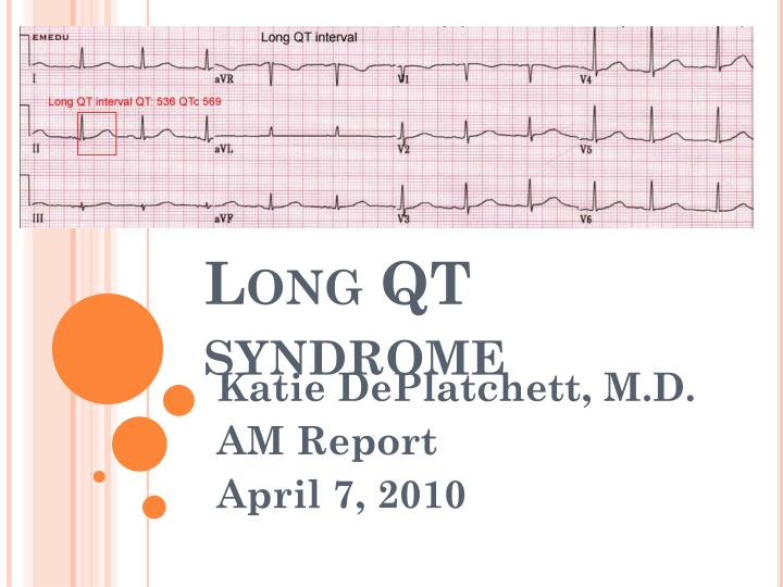 long qt syndrome essay