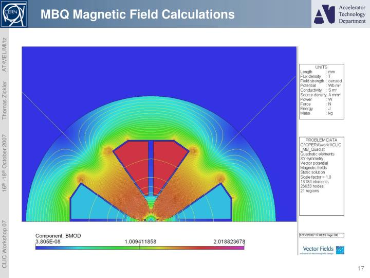 MBQ Magnetic Field Calculations