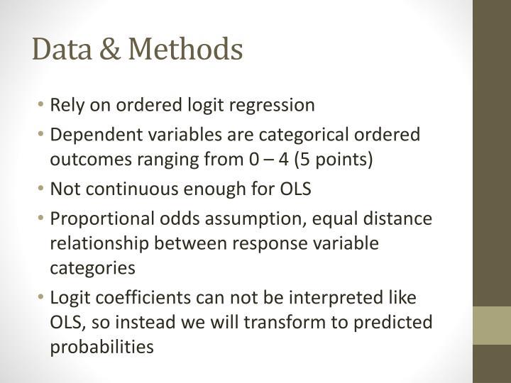 Data & Methods