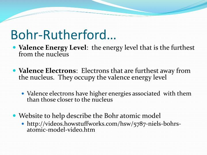 Bohr-Rutherford…
