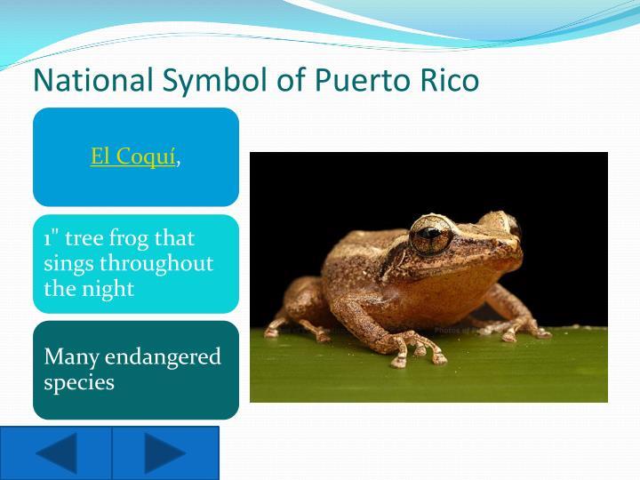 National Symbol of Puerto Rico