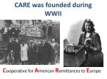 care was founded during wwii