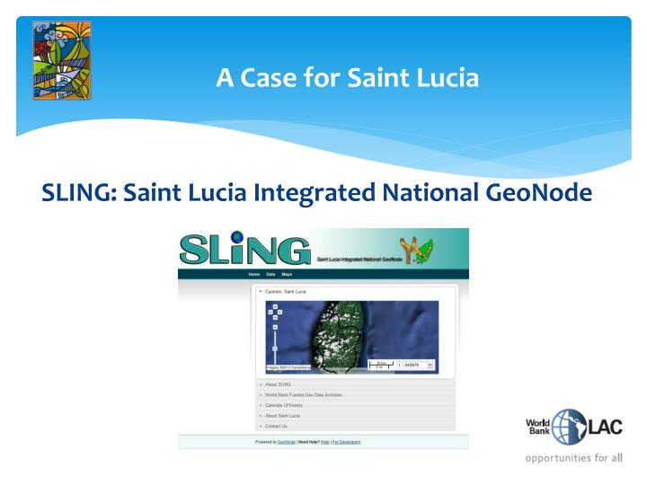 A Case for Saint Lucia