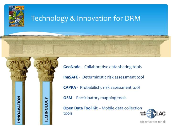 Technology & Innovation for DRM