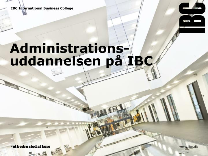 IBC International Business College