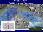 minot nd 2011 rapid situational awareness