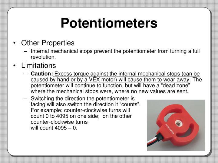 Potentiometers1