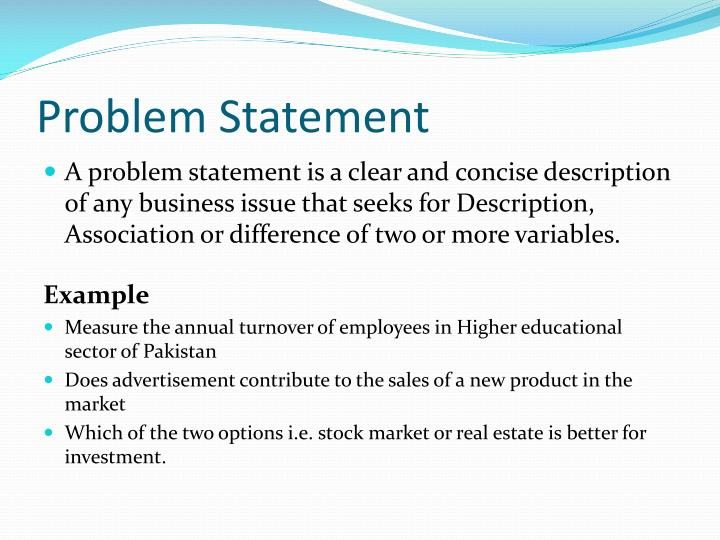 Ppt quantitative techniques in business powerpoint presentation problem statement accmission Gallery