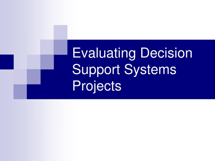 corporate finance project evaluation