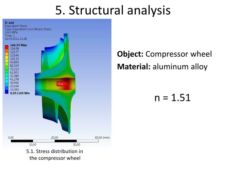 5. Structural analysis