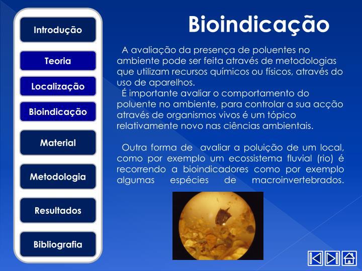 Bioindicação