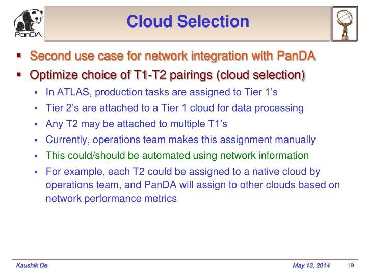 Cloud Selection