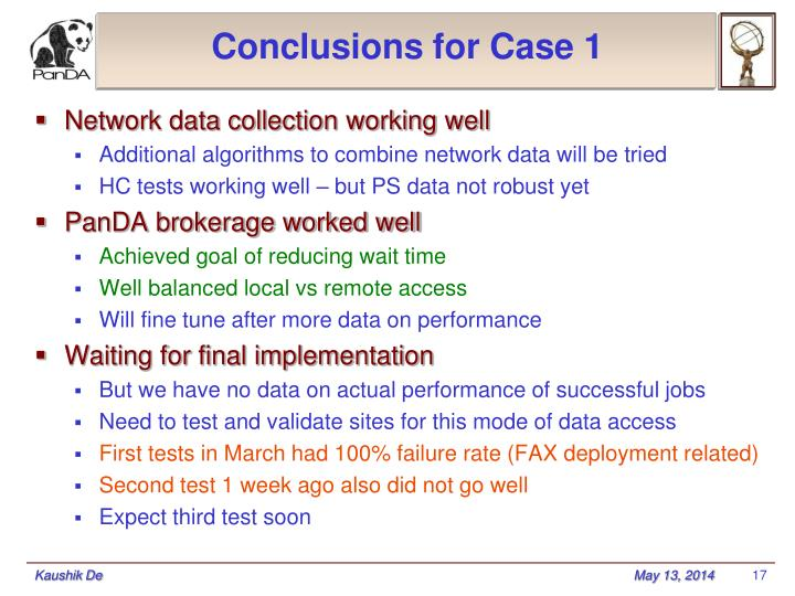 Conclusions for Case