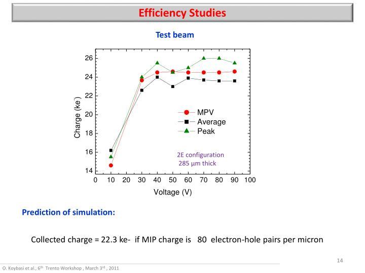 Efficiency Studies