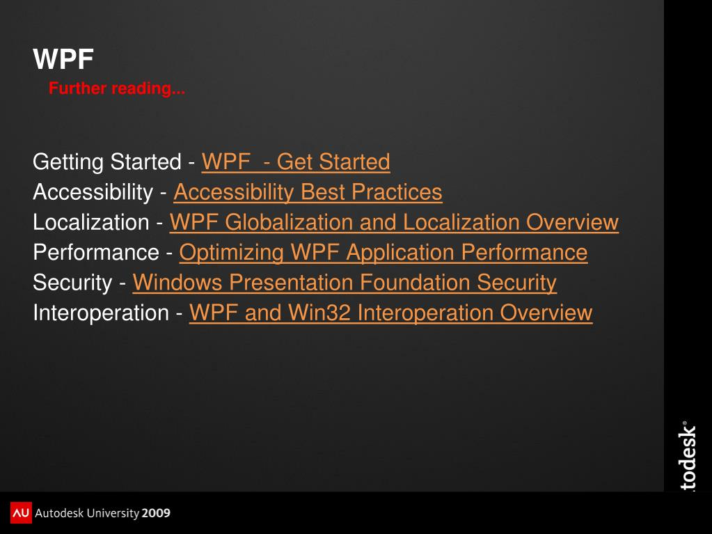 Wpf image performance