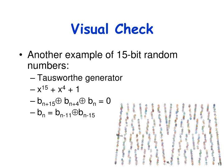 Visual Check