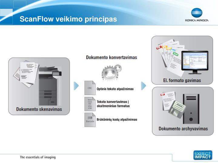 Scanflow veikimo principas