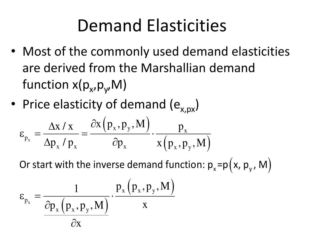 Ppt Elasticity And Consumer Surplus Powerpoint Presentation