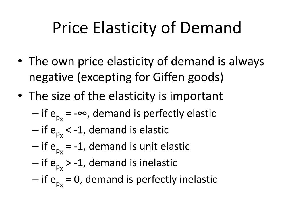Ppt Elasticity And Consumer Surplus Powerpoint Presentation Free Download Id 3233101