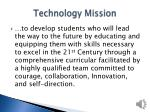 technology mission