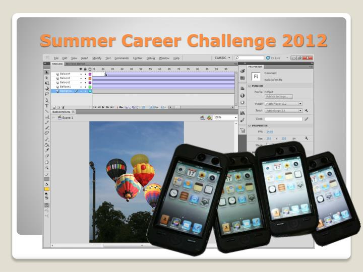 Summer Career Challenge 2012