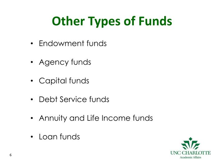Other Types of Funds