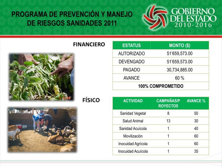 PROGRAMA DE PREVENCIÓN Y MANEJO