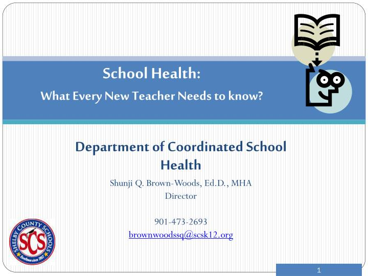 school health what every new teacher needs to know